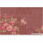 """Ткань для пэчворк 31020-20 из коллекции """"Antique rose"""" """"Lecien"""" (Япония)"""