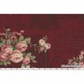 """Ткань для пэчворк (60x110см) 31020-30 из коллекции """"Antique rose"""" """"Lecien"""" (Япония)"""