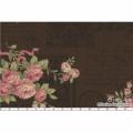 """Ткань для пэчворк (60x110см) 31020-80 из коллекции """"Antique rose"""" """"Lecien"""" (Япония)"""