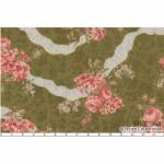 """Ткань для пэчворк (50x55см) 31021-60 из коллекции """"Antique rose"""" """"Lecien"""" (Япония)"""
