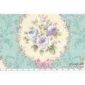 """Ткань для пэчворк (60x110см) 31054-70 из коллекции """"Rococo Sweet"""" """"Lecien"""" (Япония)"""