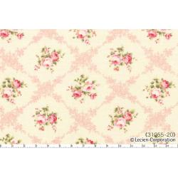 """Ткань для пэчворк (50x55см) 31055-20 из коллекции """"Rococo Sweet"""" """"Lecien"""" (Япония)"""