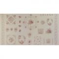"""Ткань для пэчворк (60x110см) 31069-10 из коллекции """"Durham Quilt"""" """"Lecien"""" (Япония)"""