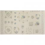 """Ткань для пэчворк (60x110см) 31069-70 из коллекции """"Durham Quilt"""" """"Lecien"""" (Япония)"""