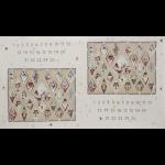 """Ткань для пэчворк (60x110см) 31074-10 из коллекции """"Il Nostro Natale"""" """"Lecien"""" (Япония)"""