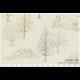 """Ткань для пэчворк (50x55см) 31085-10 из коллекции """"Mrs. Marchs winter"""" """"Lecien"""" (Япония)"""