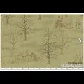 """Ткань для пэчворк (50x55см) 31085-60 из коллекции """"Mrs. Marchs winter"""" """"Lecien"""" (Япония)"""