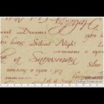 """Ткань для пэчворк (50x55см) 31086-11 из коллекции """"Mrs. Marchs winter"""" """"Lecien"""" (Япония)"""