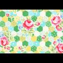 """Ткань для пэчворк (50x55см) 31128-50 из коллекции """"Flower Sugar"""" """"Lecien"""" (Япония)"""