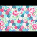 """Ткань для пэчворк (50x55см) 31128-70 из коллекции """"Flower Sugar"""" """"Lecien"""" (Япония)"""