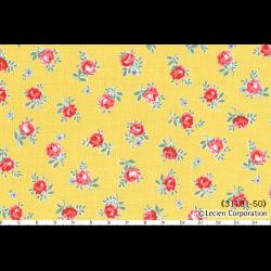 """Ткань для пэчворк (50x55см) 31131-50 из коллекции """"Flower Sugar"""" """"Lecien"""" (Япония)"""