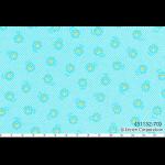 """Ткань для пэчворк (50x55см) 31132-70 из коллекции """"Flower Sugar"""" """"Lecien"""" (Япония)"""