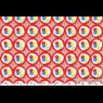 """Ткань для пэчворк (50x55см) 31146-30 из коллекции """"Retro 30's"""" """"Lecien"""" (Япония)"""
