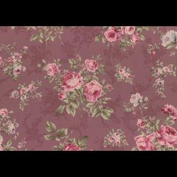 """Ткань для пэчворк (50x55см) 31148-20 из коллекции """"Antique rose"""" """"Lecien"""" (Япония)"""