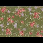 """Ткань для пэчворк (50x55см) 31149-60 из коллекции """"Antique rose"""" """"Lecien"""" (Япония)"""