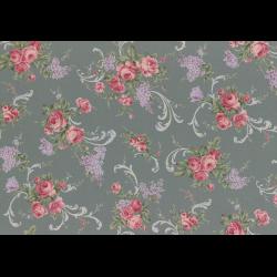 """Ткань для пэчворк (50x55см) 31149-70 из коллекции """"Antique rose"""" """"Lecien"""" (Япония)"""