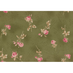 """Ткань для пэчворк (50x55см) 31151-60 из коллекции """"Antique rose"""" """"Lecien"""" (Япония)"""