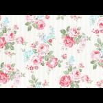 """Ткань для пэчворк (50x55см) 31264-10 из коллекции """"Princess Rose"""" """"Lecien"""" (Япония)"""