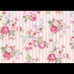 """Ткань для пэчворк (50x55см) 31264-20 из коллекции """"Princess Rose"""" """"Lecien"""" (Япония)"""