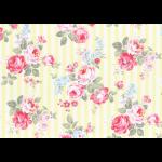 """Ткань для пэчворк (50x55см) 31264-50 из коллекции """"Princess Rose"""" """"Lecien"""" (Япония)"""