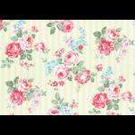 """Ткань для пэчворк (50x55см) 31264-60 из коллекции """"Princess Rose"""" """"Lecien"""" (Япония)"""