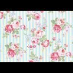 """Ткань для пэчворк (50x55см) 31264-70 из коллекции """"Princess Rose"""" """"Lecien"""" (Япония)"""