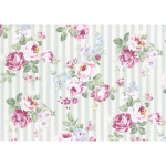 """Ткань для пэчворк (50x55см) 31264-90 из коллекции """"Princess Rose"""" """"Lecien"""" (Япония)"""