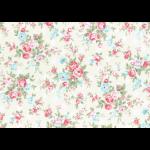 """Ткань для пэчворк (50x55см) 31265-10 из коллекции """"Princess Rose"""" """"Lecien"""" (Япония)"""