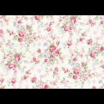 """Ткань для пэчворк (50x55см) 31265-20 из коллекции """"Princess Rose"""" """"Lecien"""" (Япония)"""
