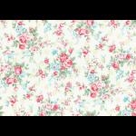 """Ткань для пэчворк (50x55см) 31265-60 из коллекции """"Princess Rose"""" """"Lecien"""" (Япония)"""