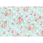 """Ткань для пэчворк (50x55см) 31265-70 из коллекции """"Princess Rose"""" """"Lecien"""" (Япония)"""