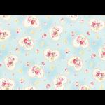 """Ткань для пэчворк (50x55см) 31266-70 из коллекции """"Princess Rose"""" """"Lecien"""" (Япония)"""