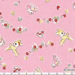 """Ткань для пэчворк (50x55см) 40540-20 из коллекции """"Little Heroines"""" """"Lecien"""" (Япония)"""