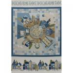 """Ткань для пэчворк (75x110см) 31350-70 из коллекции """"American Country"""" """"Lecien"""" (Япония)"""