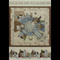 """Ткань для пэчворк (75x110см) 31350-80 из коллекции """"American Country"""" """"Lecien"""" (Япония)"""
