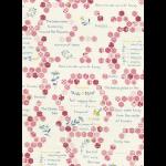 """Ткань для пэчворк (50x55см) 31501-20 из коллекции """"American Country"""" """"Lecien"""" (Япония)"""