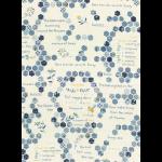 """Ткань для пэчворк (50x55см) 31501-70 из коллекции """"American Country"""" """"Lecien"""" (Япония)"""