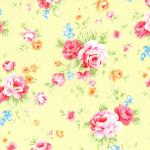 """Ткань для пэчворк (50x55см) 31420-50 из коллекции """"Antique Flower"""" """"Lecien"""" (Япония)"""
