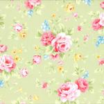 """Ткань для пэчворк (50x55см) 31420-60 из коллекции """"Antique Flower"""" """"Lecien"""" (Япония)"""