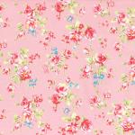 """Ткань для пэчворк (50x55см) 31421-20 из коллекции """"Antique Flower"""" """"Lecien"""" (Япония)"""