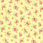 """Ткань для пэчворк (50x55см) 31422-50 из коллекции """"Antique Flower"""" """"Lecien"""" (Япония)"""