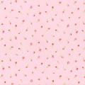 """Ткань для пэчворк (50x55см) 31423-20 из коллекции """"Antique Flower"""" """"Lecien"""" (Япония)"""