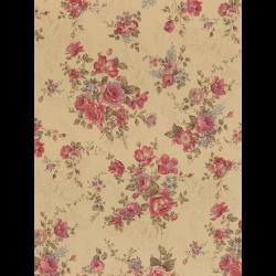 """Ткань для пэчворк (50x55см) 31478-10 из коллекции """"Antique rose"""" """"Lecien"""" (Япония)"""