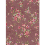 """Ткань для пэчворк (50x55см) 31478-20 из коллекции """"Antique rose"""" """"Lecien"""" (Япония)"""