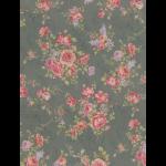 """Ткань для пэчворк 31478-70 из коллекции """"Antique rose"""" """"Lecien"""" (Япония)"""