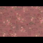 """Ткань для пэчворк 31479-20 из коллекции """"Antique rose"""" """"Lecien"""" (Япония)"""
