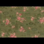 """Ткань для пэчворк 31479-60 из коллекции """"Antique rose"""" """"Lecien"""" (Япония)"""