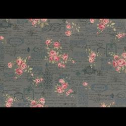 """Ткань для пэчворк (50x55см) 31479-70 из коллекции """"Antique rose"""" """"Lecien"""" (Япония)"""