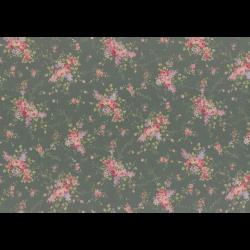 """Ткань для пэчворк (50x55см) 31480-70 из коллекции """"Antique rose"""" """"Lecien"""" (Япония)"""