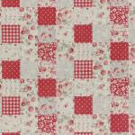 """Ткань для пэчворк (100x110см) 31467-30 из коллекции """"Durham Quilt"""" 80% хлопок, 20% лён """"Lecien"""" (Япония)"""